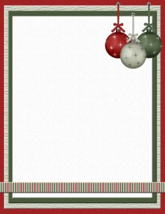 free christmas stationery templates xmasstat