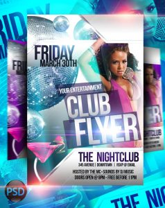 free club flyer templates club flyer psd template by imperialflyers dljlai
