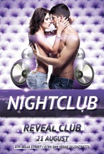 free club flyer templates free couple nightclub party free flyer awesomeflyer