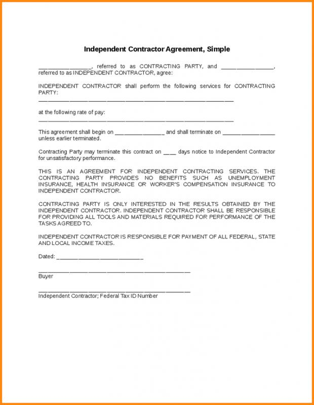 Free Construction Contract Template  Template Business