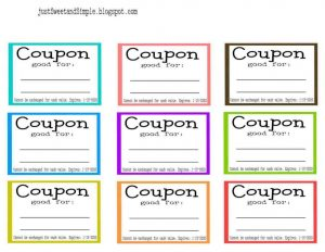 Free Coupon Template Brochure Templates Coupons Template Free Printable  Coupon Template Free Printable