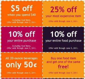 free coupon template coupon