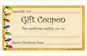 free coupon template editable homemade coupon template free download