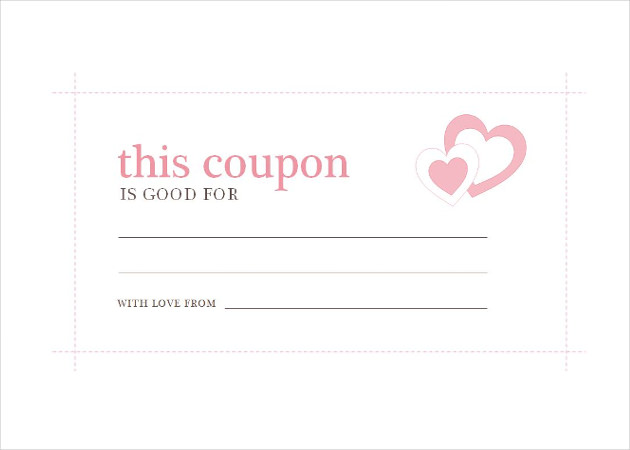 Free coupon template template business for Coupon making template