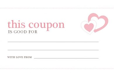 free coupon template valentines day coupons