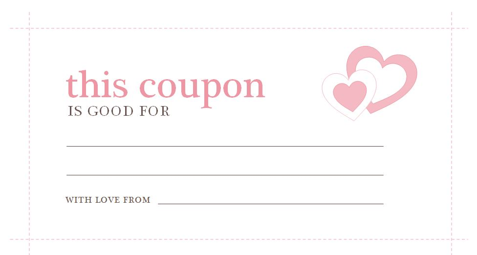 Free Coupon Template  Free Coupon Template