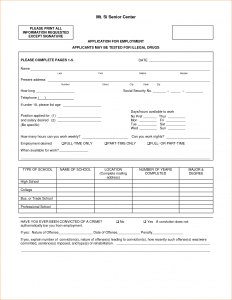 free doctor excuse basic job application form