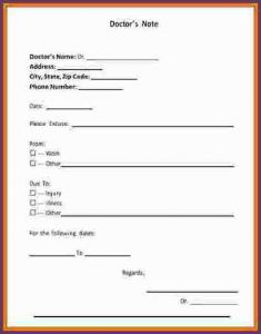 free doctors note fake hospital note template fake hospital note template fake doctors note template