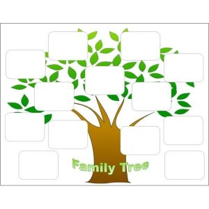 free editable family tree template create a family tree with the help of these free templates for regarding editable family tree template