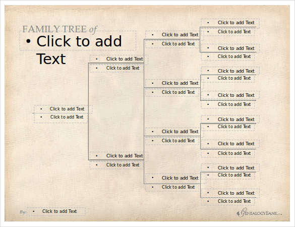 free editable family tree template | template business, Modern powerpoint