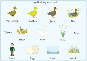 free editable newsletter templates for word ugly duckling word mat