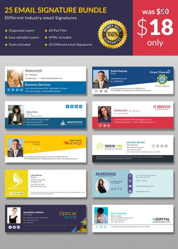 Free email signature templates for outlook template business free email signature templates for outlook wajeb Images