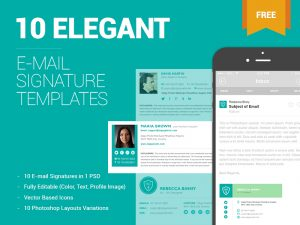 free email signature templates main image