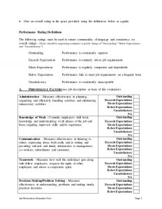 free employee evaluation form pediatric medical assistant performance appraisal