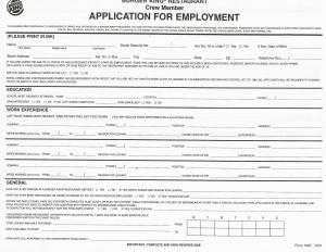 free employment application pdf printable job applications pdf