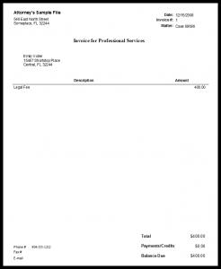 free envelopes templates quickbooks flat fee invoice attorney envelope
