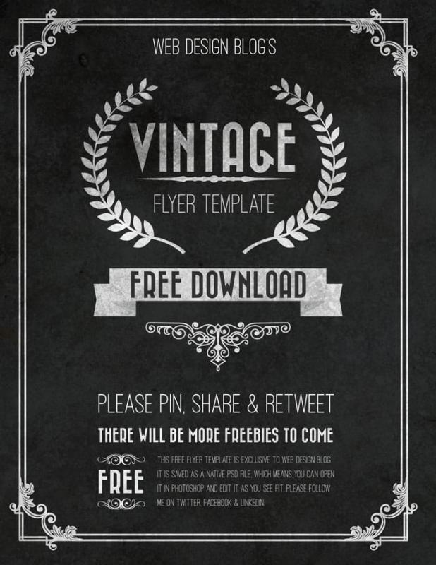 Free Event Flyer Templates  Template Business