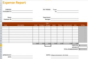 free expense report template excel expense report template free download expense report template wbtnqt