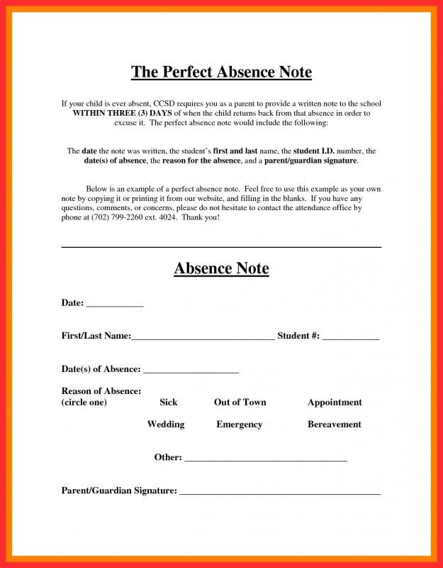Free Fake Doctors Note Template Download  Template Business