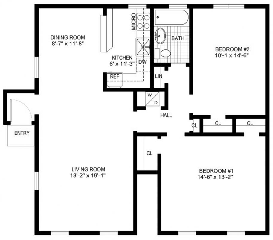 Free Floor Plan Template  Template Business