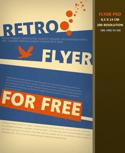 free flyer template word