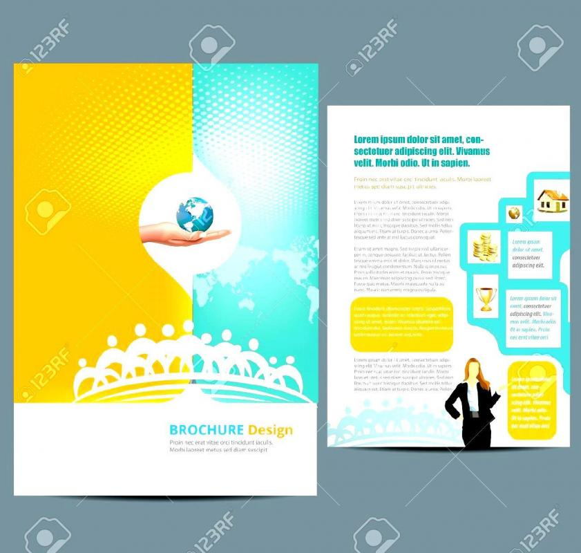 Free Flyer Templates Word  Free Brochure Templates Word
