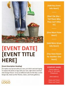 free flyer templates word event flyer templates