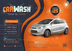 free fundraiser flyer templates car wash flyer