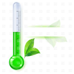 free fundraising thermometer green thermometer icon spring download royalty free vector file eps