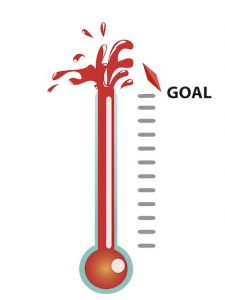 free fundraising thermometer shutterstock