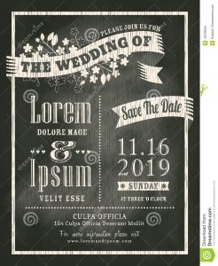 free halloween invite templates vintage chalkboard wedding invitation card background vector design