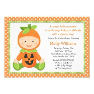 free halloween invites templates fall pumpkin baby shower invitation rccefddafdafdcc imtzy byvr
