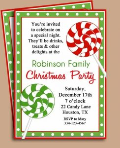 free holiday card templates christmas party invitation template christmas party invitation with regard to xmas invitation template