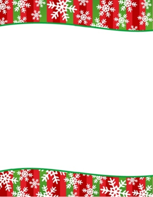 free holiday stationery templates