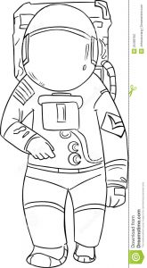 free id badge template astronaut vector