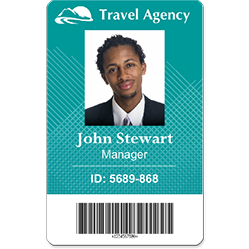 Free Id Badge Template Template Business - Free id badge template