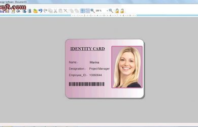 free id card template id card templates