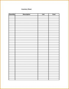 free inventory template doc blank inventory template inventory spreadsheet