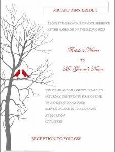 Free Invitation Templates For Word Free Printable Wedding Invitation  Templates For Word To Make New Style