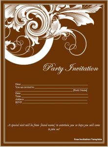 Free Invitation Templates For Word Invitation Templates Free Download Word  Mnewrx  Free Invitation Download