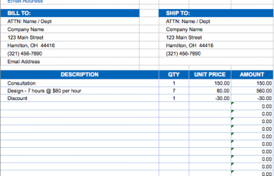 free invoice template excel invoice templates excel billing invoice template nesmkh