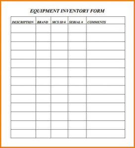 free letter templates equipment inventory template equipment inventory form