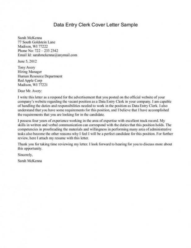 Free Letter Templates  Free Sample Cover Letters