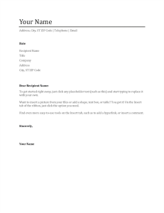 free letter templates template for resume cover letter resumes and cover letters office