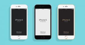 free logo templates psd iphone iphone plus flat landscape mockup psd free