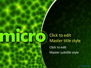 free medical powerpoint templates microbiology ppt template