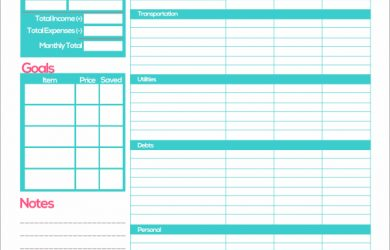 free monthly budget template free printable monthly budget planner template