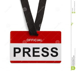 free name badge template official press pass red white badge white background