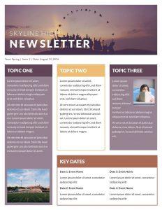 free newsletter template newsletter classroom@x