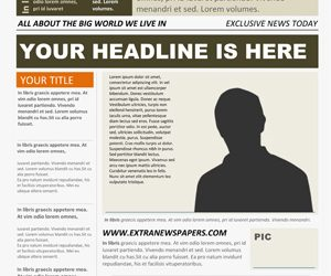 free newspaper template word newspaper template